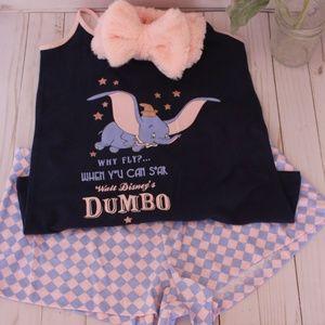 Dumbo PJ Set with Headband      (0059)